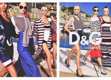 dolce and gabbana plage