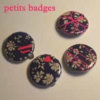 petits badges