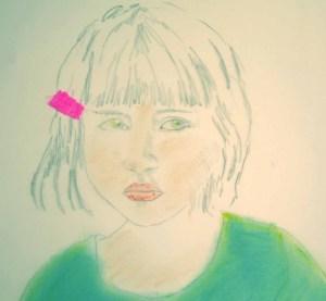 portrait vert