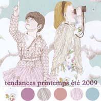 tendance printemps été 2009