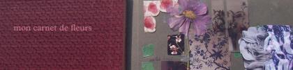 mon carnet de fleurs
