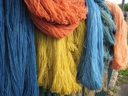 laine teintes en bretagne
