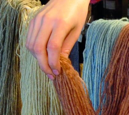 laine de bretagne teintes